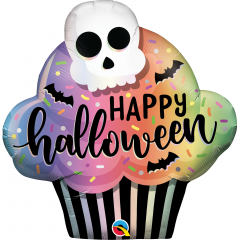 Balon Folie Figurina Halloween Cupcake  - 81 cm, Qualatex 89932