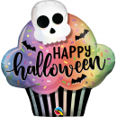 "32"" Halloween Cupcake Shape Foil Balloon, Qualatex 89932"