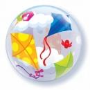 "22"" Kites In Flight Bubble Balloon, Qualatex 41508"