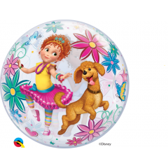 "Balon Bubble 22""/56cm Fancy Nancy, Qualatex 91285"
