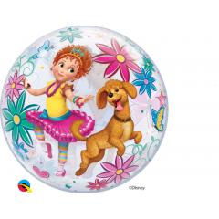 Disney Fancy Nancy Clancy Bubble Balloon - 22''/56cm, Qualatex 91285