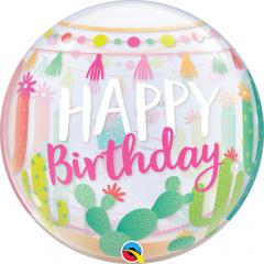 "Bubble 22"" Llama Birthday Party, Qualatex 87742"