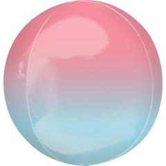 Balon folie Ombre Orbz Pink & Blue - A40628