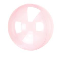 """Orbz Crystal Blue Foil Balloon - 22""""/ 56 cm, 82847"""