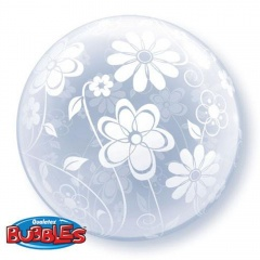 Balon Deco Bubble 20''/51 cm, Qualatex 16874