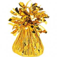Greutate din folie Aurie pentru baloane - 170 g, Amscan 991365-19