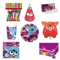 Pachet party Furby, Radar Furby, set 51 piese