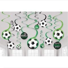 12 Swirl Decorations Goal Getter, Radar 672902