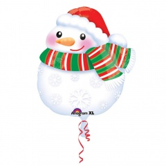 Standard Junior Shape Bundled Up Snowman, Amscan 31432
