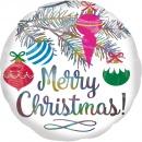 Standard Iridescent Christmas Holographic Foil Balloon, Amscan 40096