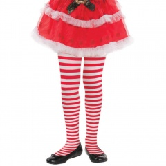 Child Tights Candy Stripe, Amscan 378813-55