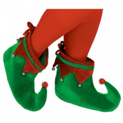 Papuci party Elf - one size, Radar 393235, set 2 buc