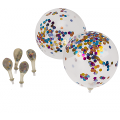 Pack of 6 pieces party balloons- 30 cm, Radar 62/0817