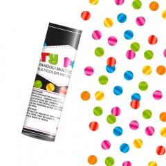 Tun de confeti 20 cm cu serpentine multicolore, Radar TUN.8820, 1 buc