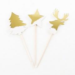 Scobitori decorative pentru briose cu coronite - 10 cm, Radar 41296, set 8 bucati