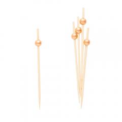 Scobitori decorative cu Perle Aurii, Radar 50268, Set 25 buc