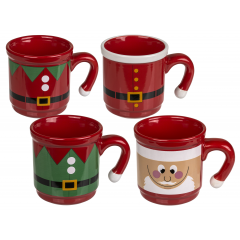 Mug with Christmas design (Santa Claus & Santa jacket), Radar 946201