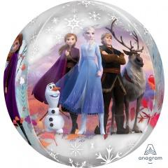 Balon folie orbz sfera Frozen 2, Amscan 40391