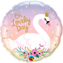 Balon Folie 45 cm - Oh Lovely Day, Qualatex 10371