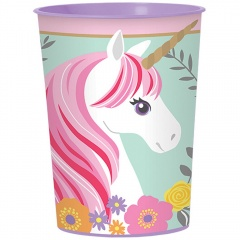 Plastic Cup for kids Shimmer & Shine, 473 ml, Amscan 421653