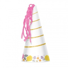 Ballooons Party Hats - 9900329, Pack of 8 pieces