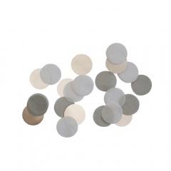 Confeti rotunde argintii pentru party si evenimente, 15g, Amscan 9904552