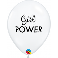 11'' Simply Girl Power Balloons, Qualatex 10620