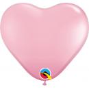 "Baloane latex in forma de inima, Red, 11"", Qualatex 43730, set 100 buc"