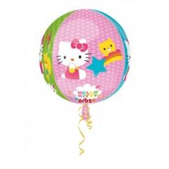 Orbz Hello Kitty Foil Balloon 43 x 45 cm, Amscan 28393