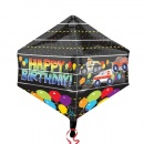 Balon Folie Ultrashape Happy Birthday- 43x53 cm, Amscan 33310