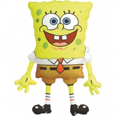SuperShape SpongeBob SquarePants Foil Balloon - 56 x 71 cm, Amscan 63989