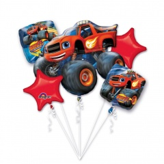 "Bouquet ""Blaze and the Monster Machines"", Amscan 32395, pack of 5 pieces"