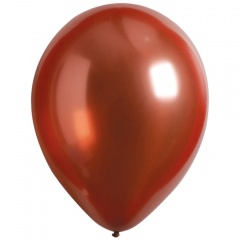 "50 Latex Balloons Decorator Satin Luxe Rose Copper 27.5 cm / 11"", Radar 9906959"