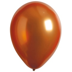 "50 Latex Balloons Decorator Satin Luxe Gold Sateen 27.5 cm / 11"", Radar 9906960"