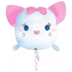 Balon Folie Figurina Pisica Marie - 30 x 48 cm, Amscan 34113