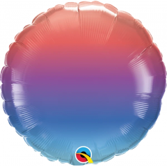 Balon Folie 45 cm Winter Ombre, Qualatex 13271