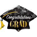 Balon Folie Figurina Toca Congratulations Grad- 106 cm, Qualatex 82656
