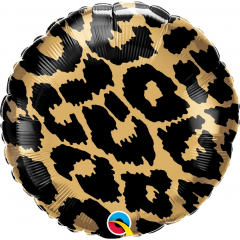 Balon Folie 45 cm Leopard Spots Pattern, Qualatex 13322