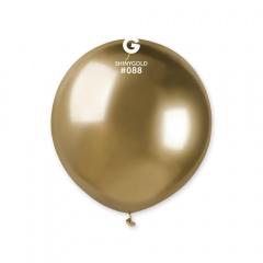 Balon Latex Jumbo Shiny Gold- 48 cm, Gemar GB150.88