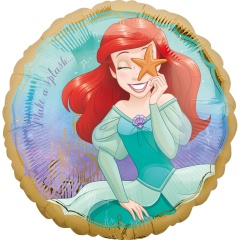 Balon Folie 45 cm Ariel Once Upon A Time, Amscan 39799
