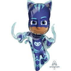 Balon Folie Figurina PJ Masks Catboy - 53cm x 93cm, Amscan 38201