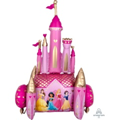 Airwalker Princess Once Upon A Time Foil Balloon 88 cm x 139 cm, Amscan 39807