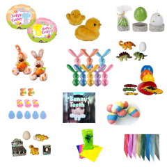 Easter Favor with Surprises, Radar PS.PASTESURPRIZE, 34 pieces