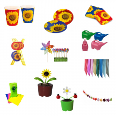 Spring Favour Sunflower, Radar PS.SUNFLOWER, 46 pieces