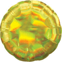 Balon Folie Iridescent Rotund Auriu- 50 cm, Amscan 39254