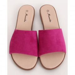 Fuchsia women's slippers, Radar 041, sizes 38-39
