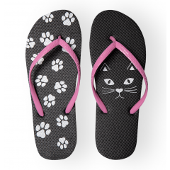 Cat & Paws Flip-Flops, Radar 004