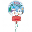 Supershape Foil Cute Party Balloon Disney Pooh - Pooh & Piglet, 51x81 cm, 07771