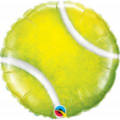 """18"""" Tennis Ball Foil Balloon, Q 21893"""
