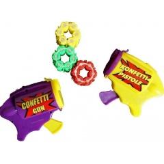 Pistol mini cu confeti, 6 trageri +3 cartuse, Radar 34640
